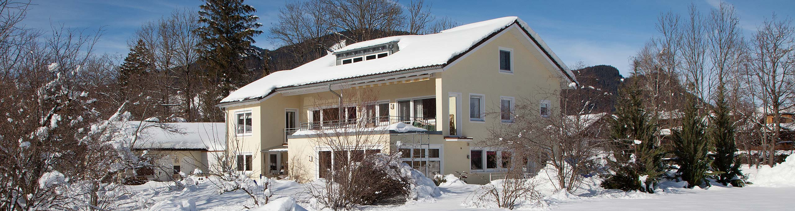 Chalet Manhard Winter